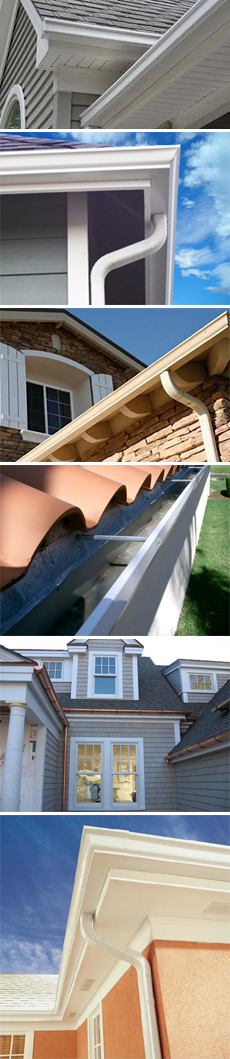 seamless gutters denver