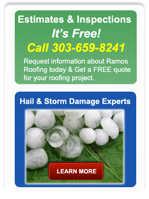 hail damage roofers colorado