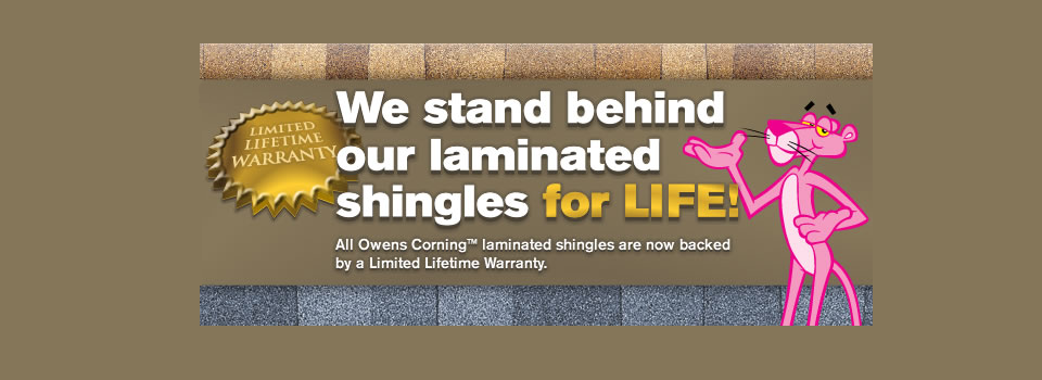 Owens Corning Lifetime Warranty