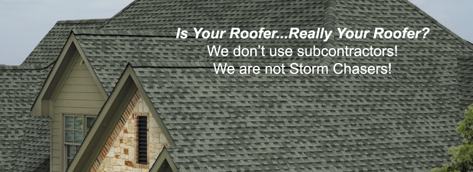 Who Is Your Roofer?
