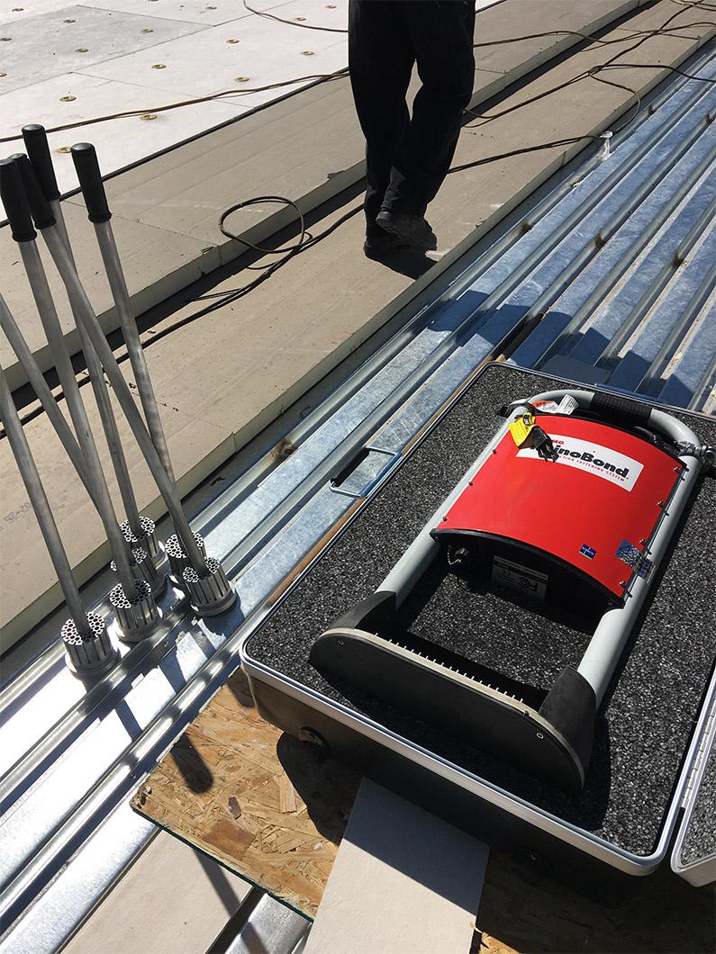 rhinobond roof application