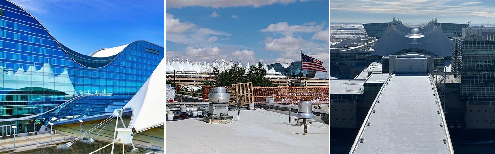 denver airport roof installation