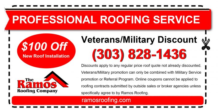 military discount roofing colorado